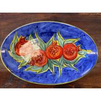 Piatto Ceramica Ovale cm 35